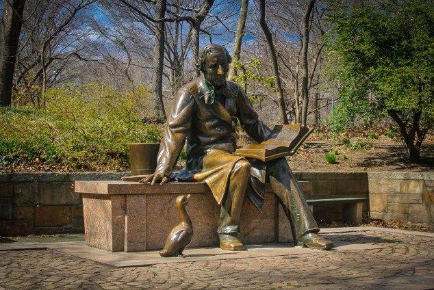 Hans Christian Andersen Sculpture, Central Park, NYC